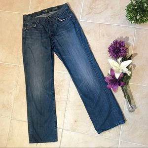 7 For All Mankind Jeans Relaxed Fit Straight #127